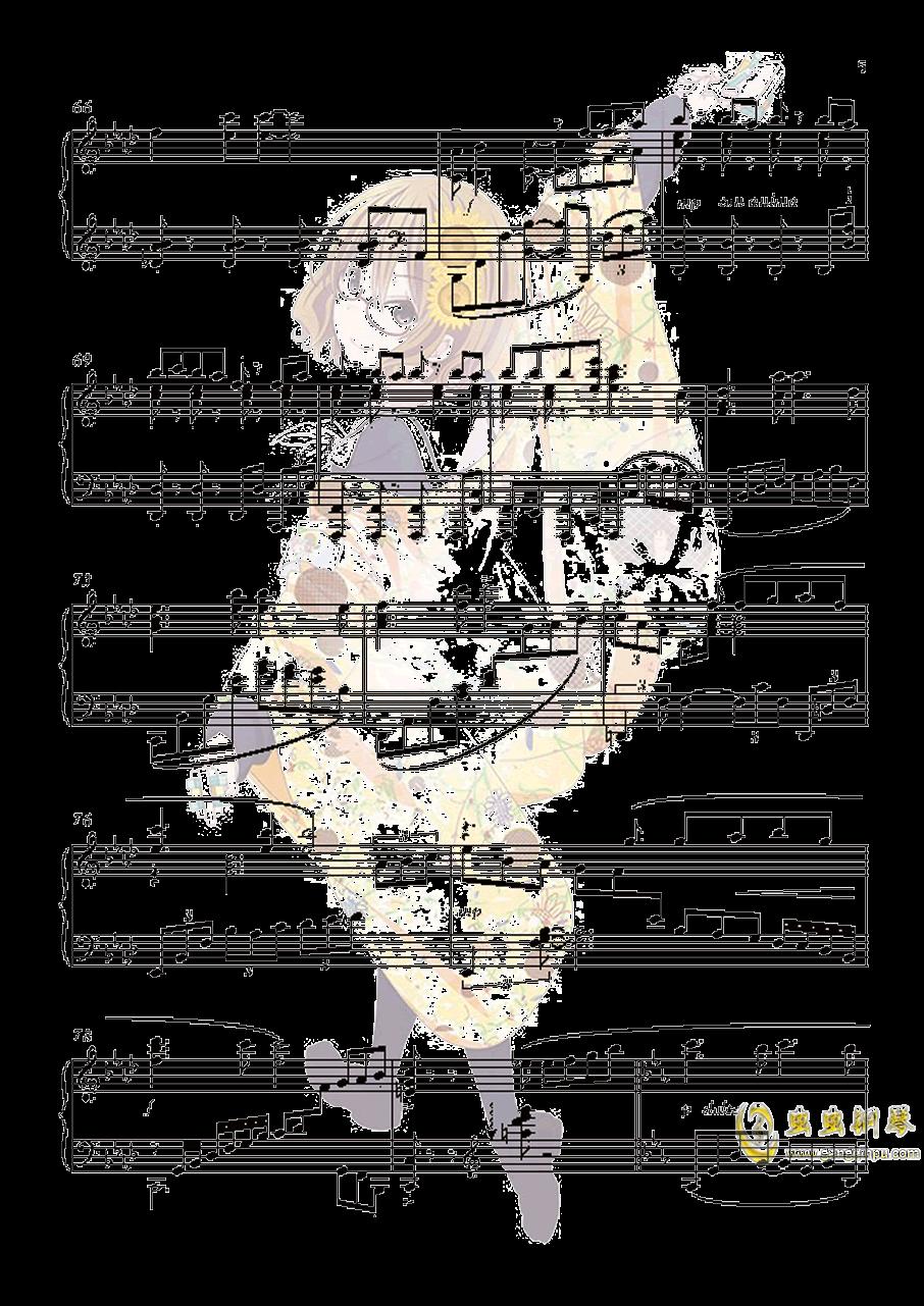 花ハ踊どれやいろはにほ钢琴谱 第5页