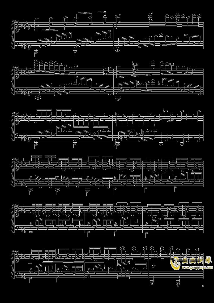 Native Faith钢琴谱 第3页