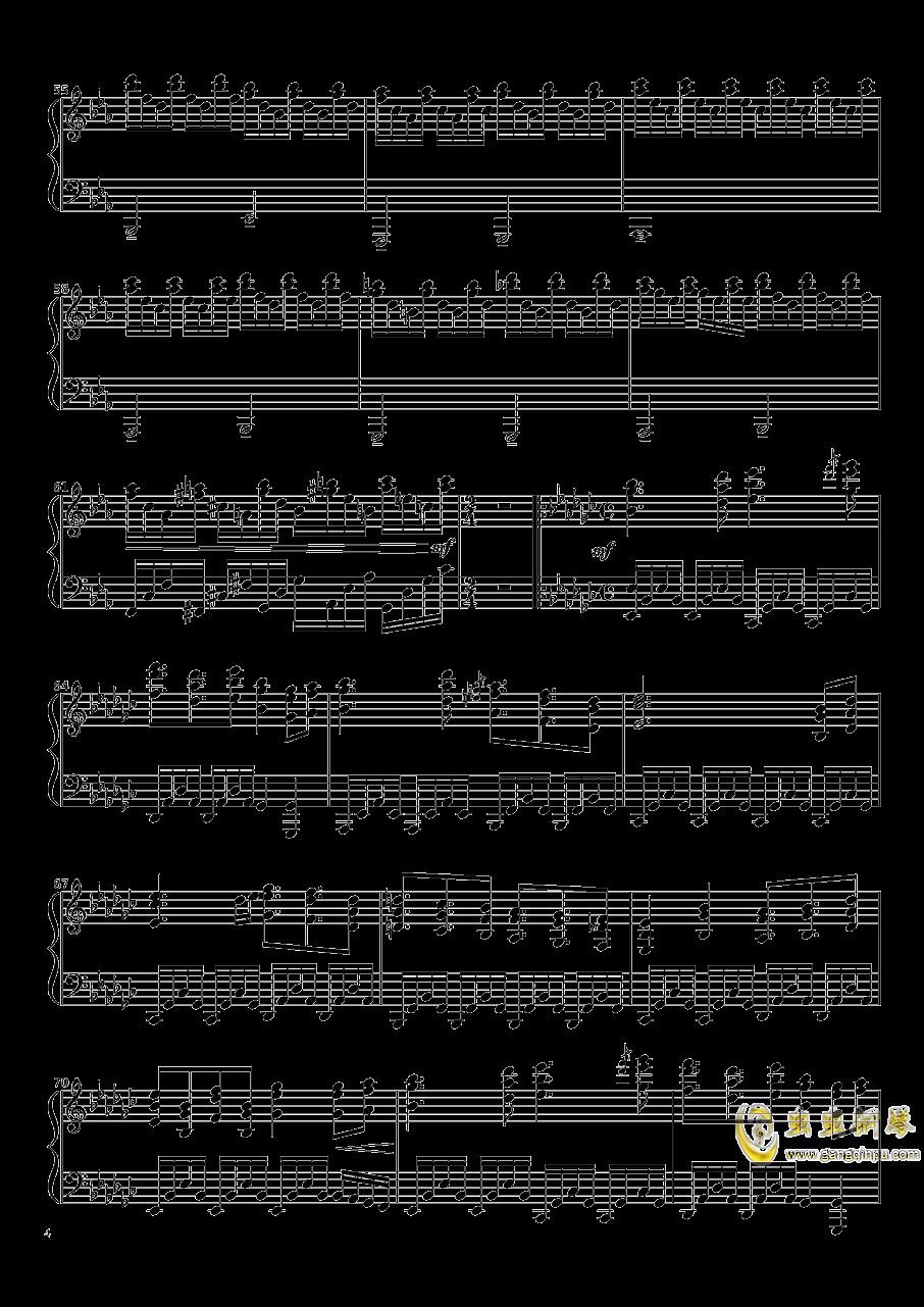 Native Faith钢琴谱 第4页