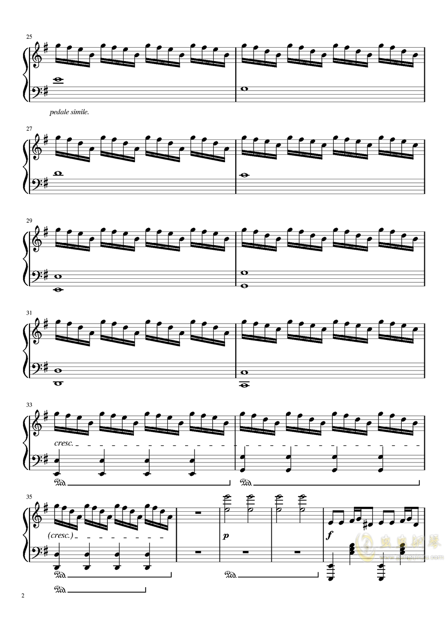 New Divide--Alita: Battle Angel Trailer Song钢琴谱 第2页