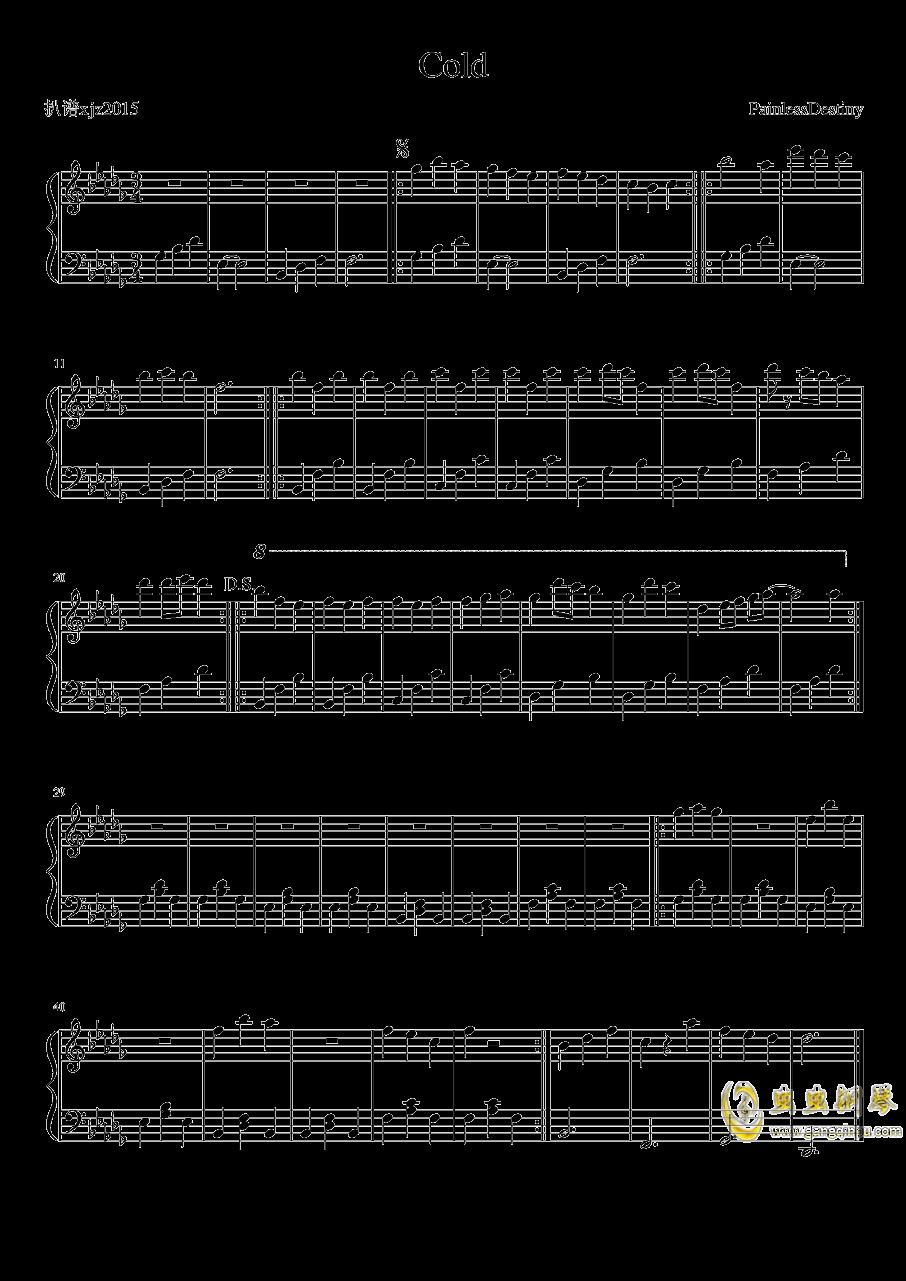 Painless Destiny钢琴谱 第1页