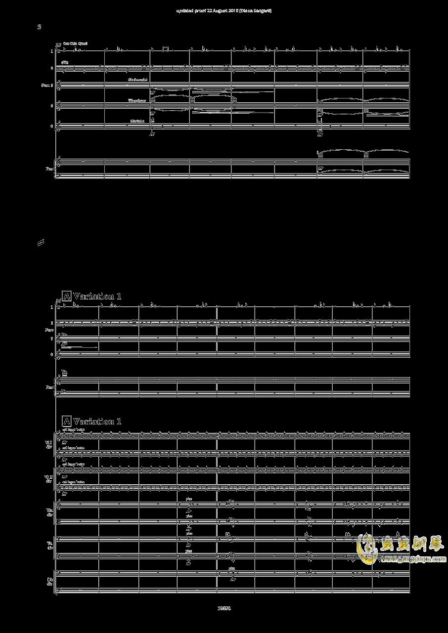 乐队协奏曲钢琴谱 第4页