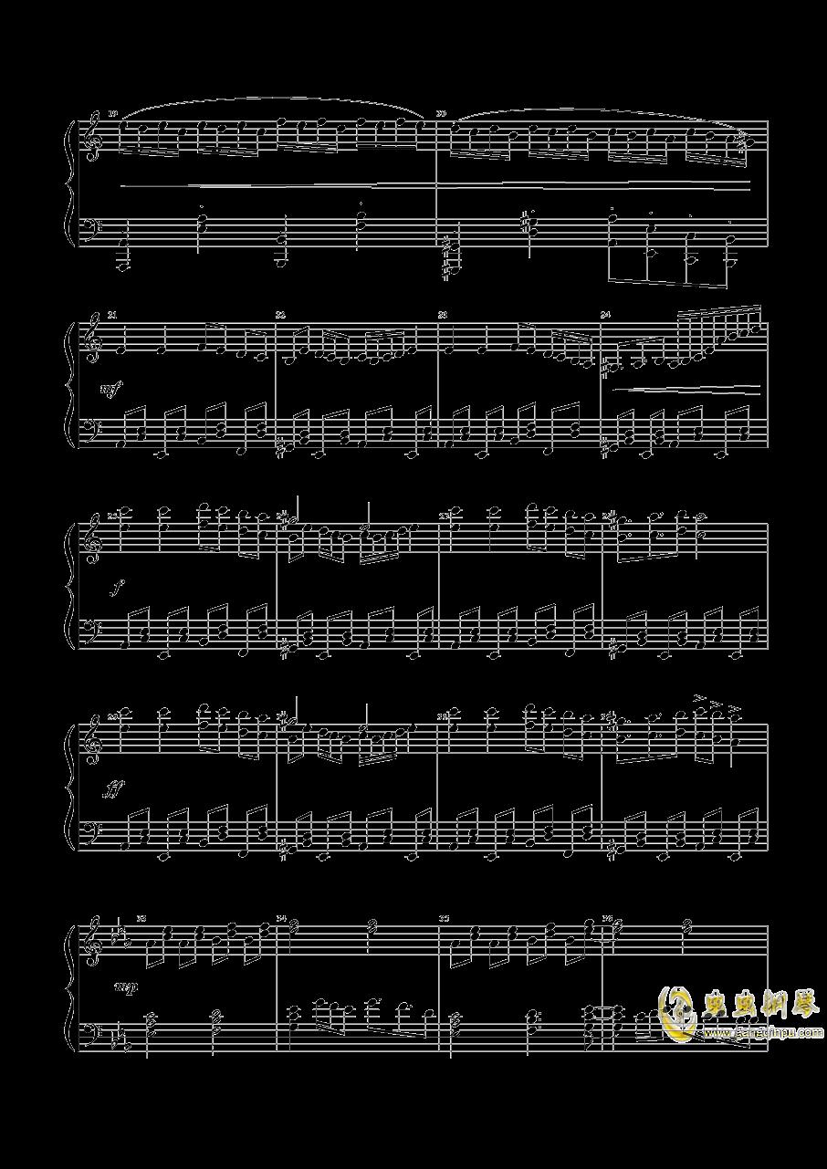 魔女们的舞会钢琴谱 第2页
