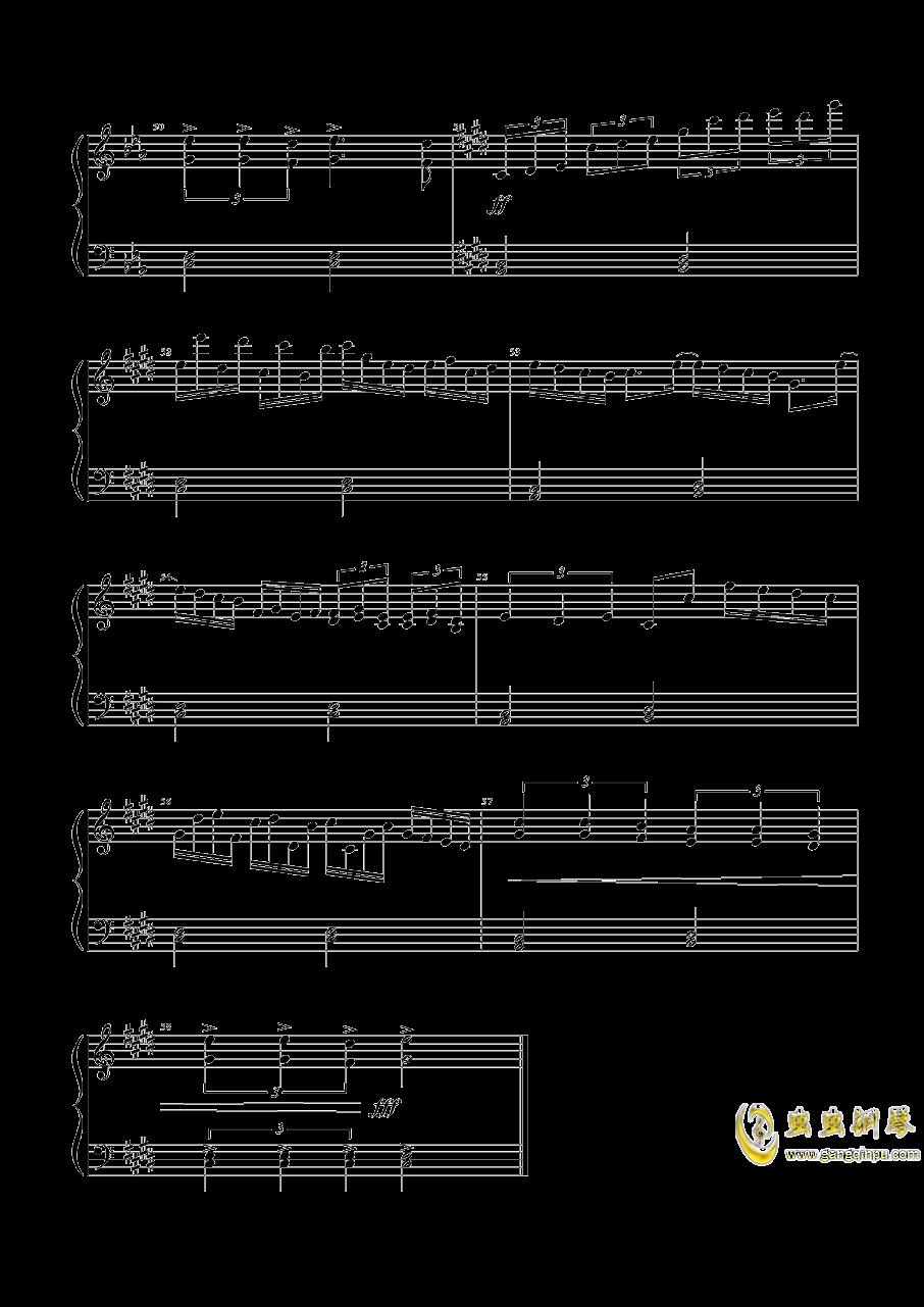 魔女们的舞会钢琴谱 第4页