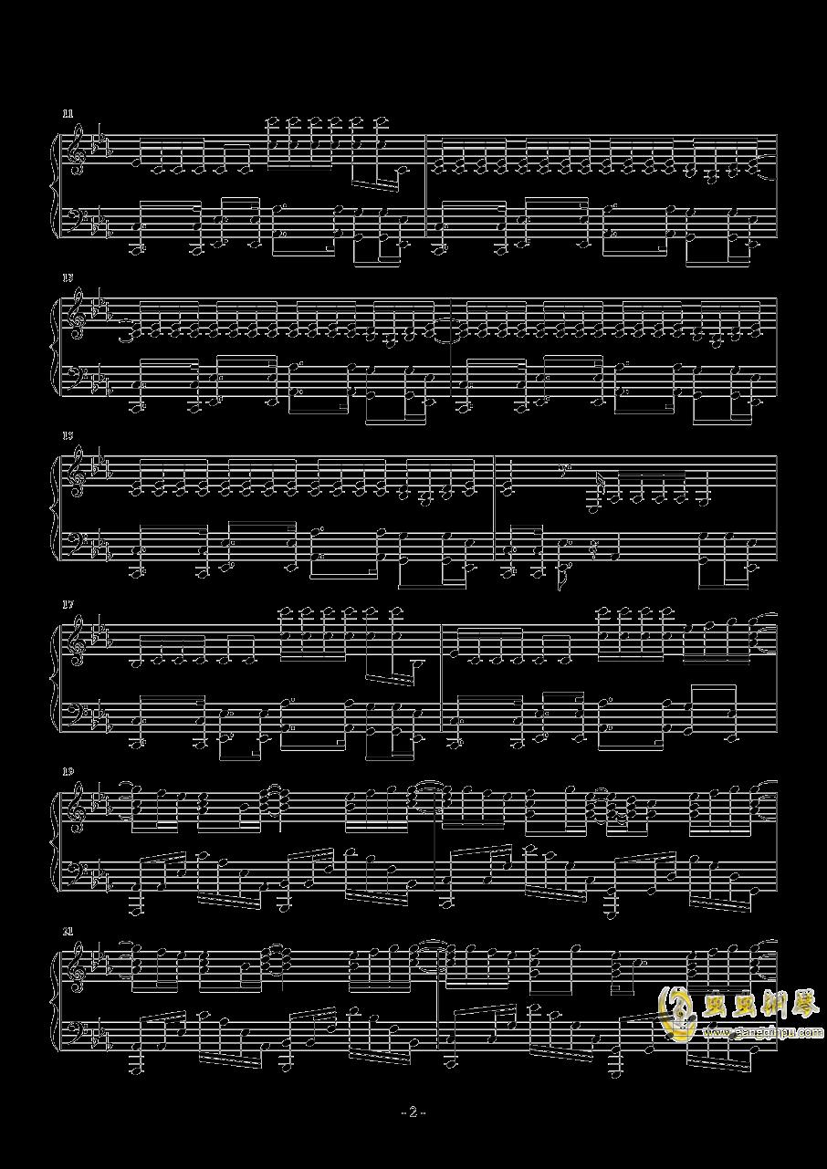 HandClap钢琴谱 第2页