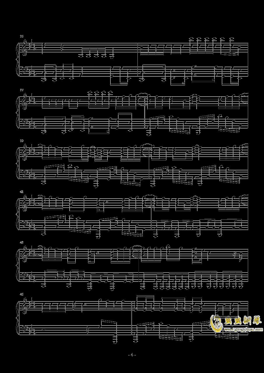 HandClap钢琴谱 第4页