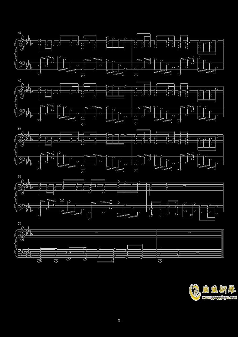HandClap钢琴谱 第5页