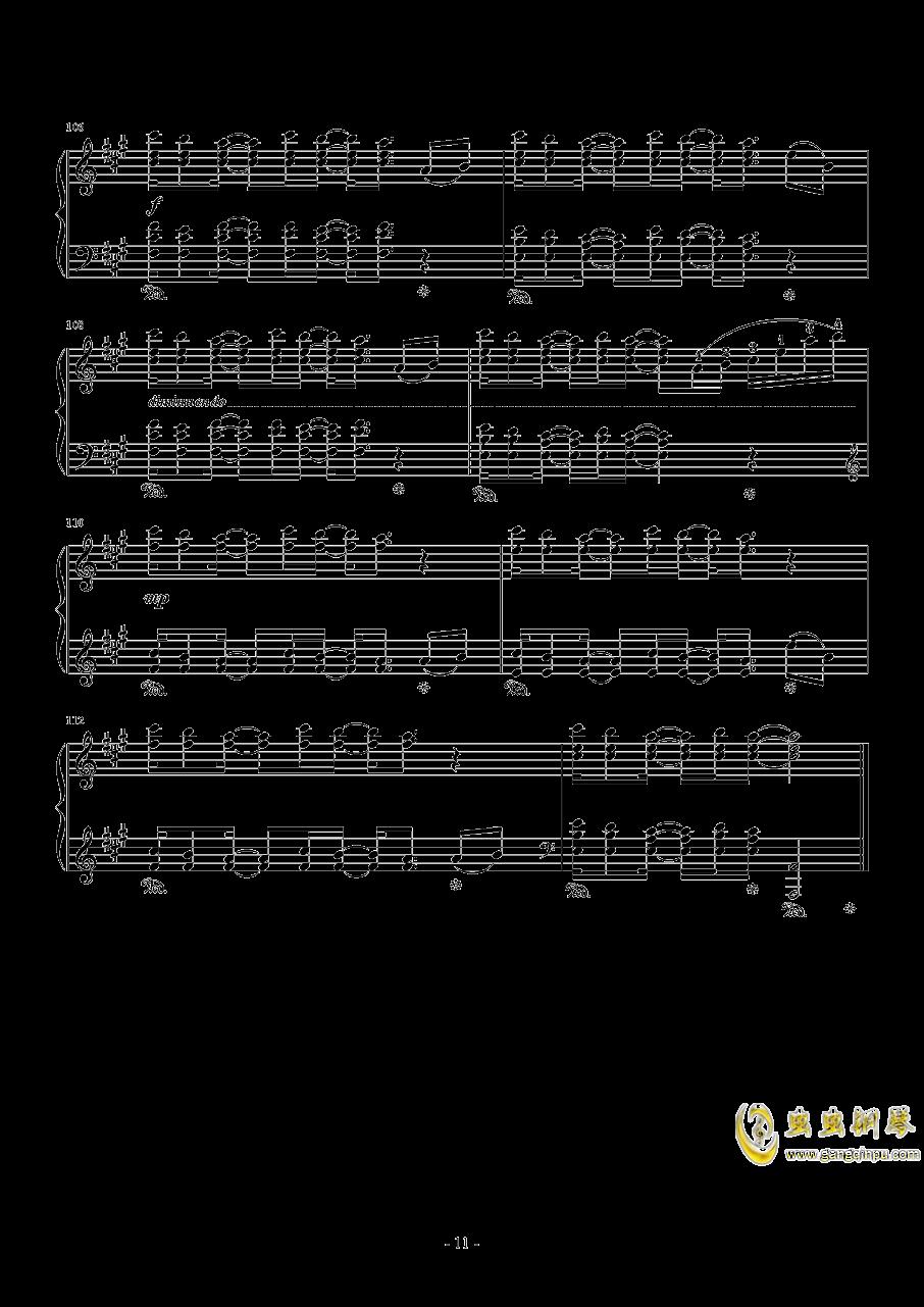 Connecting钢琴谱 第11页