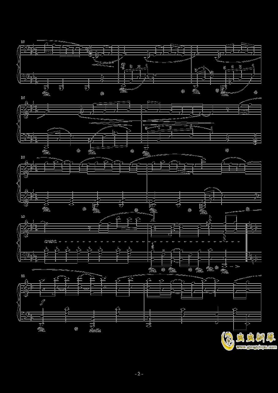 Connecting钢琴谱 第2页