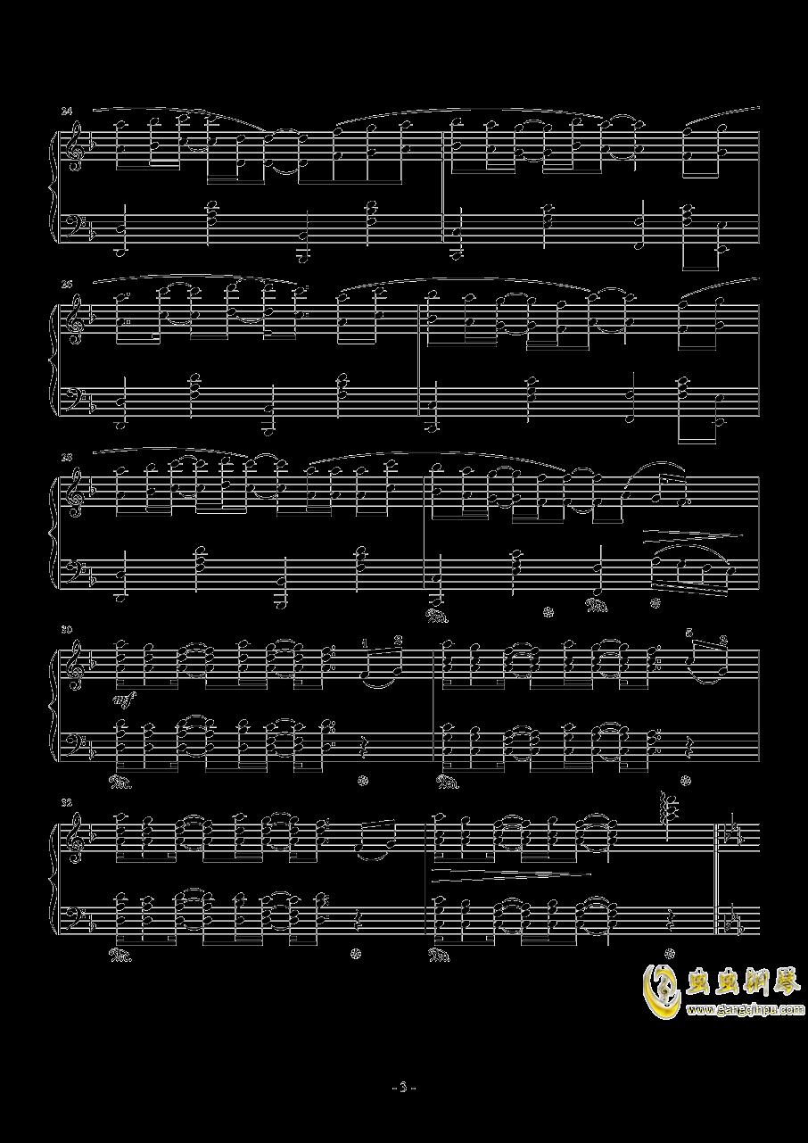 Connecting钢琴谱 第3页
