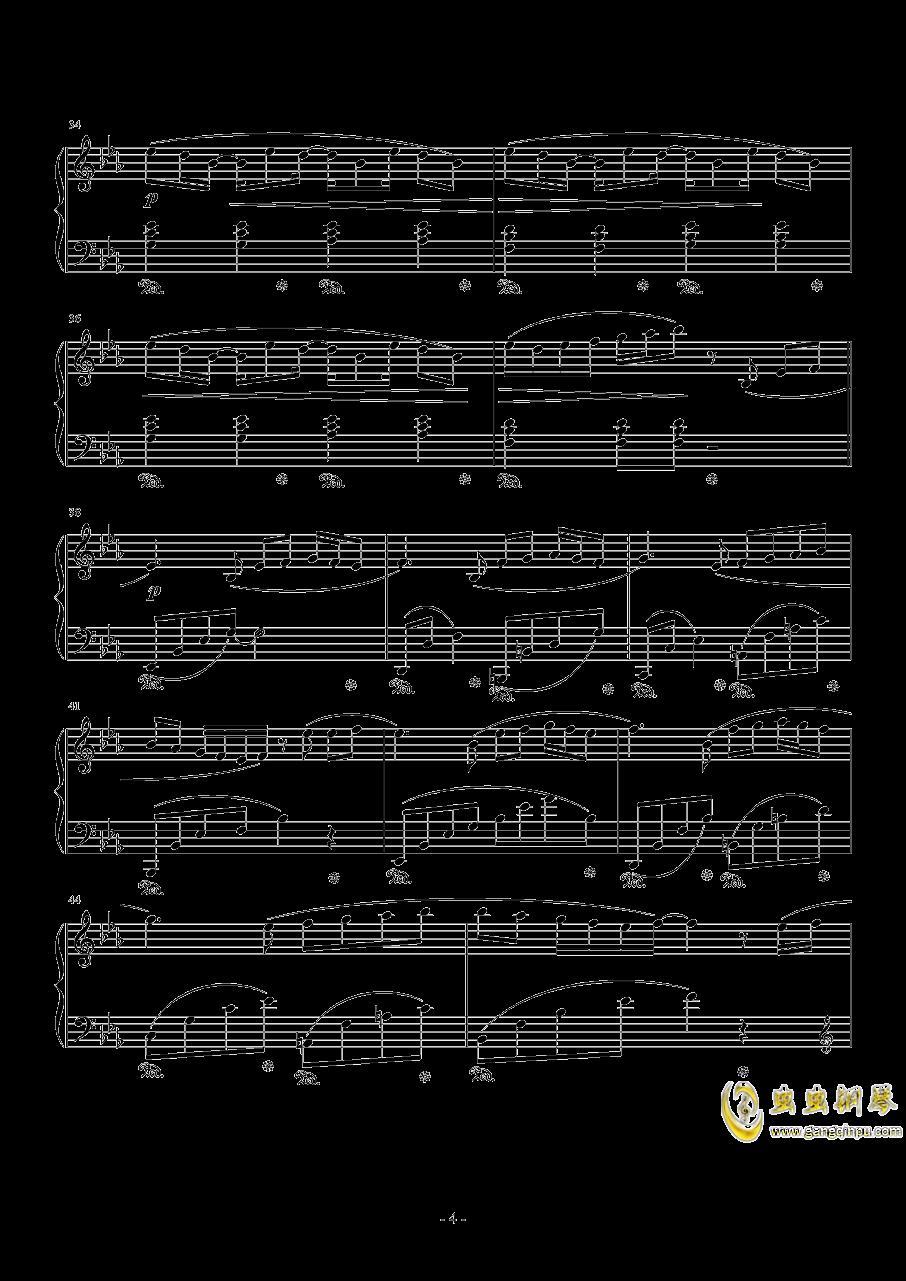 Connecting钢琴谱 第4页