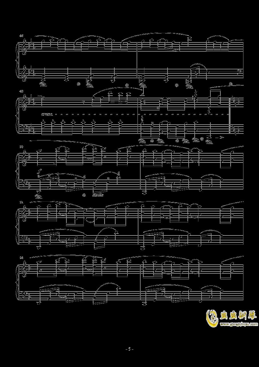Connecting钢琴谱 第5页