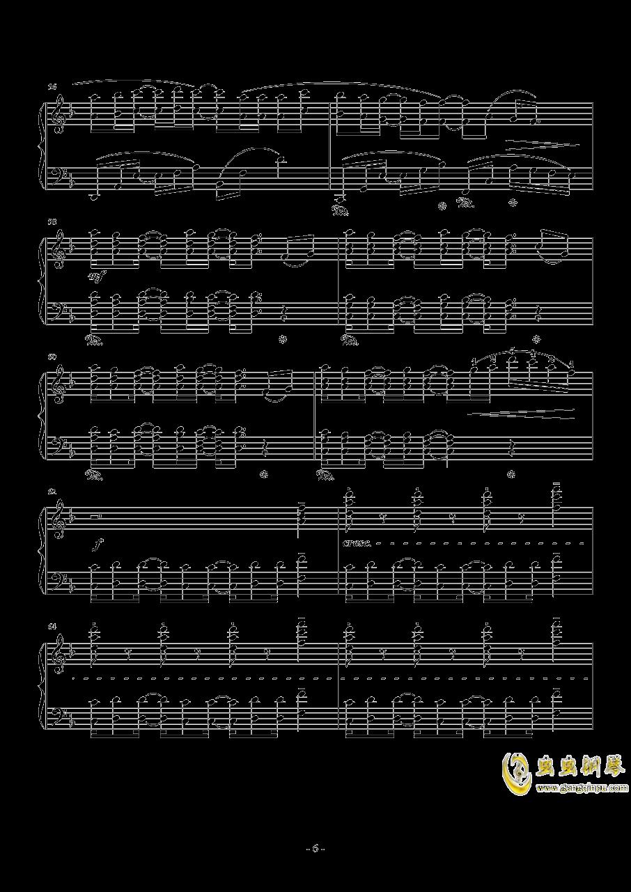 Connecting钢琴谱 第6页