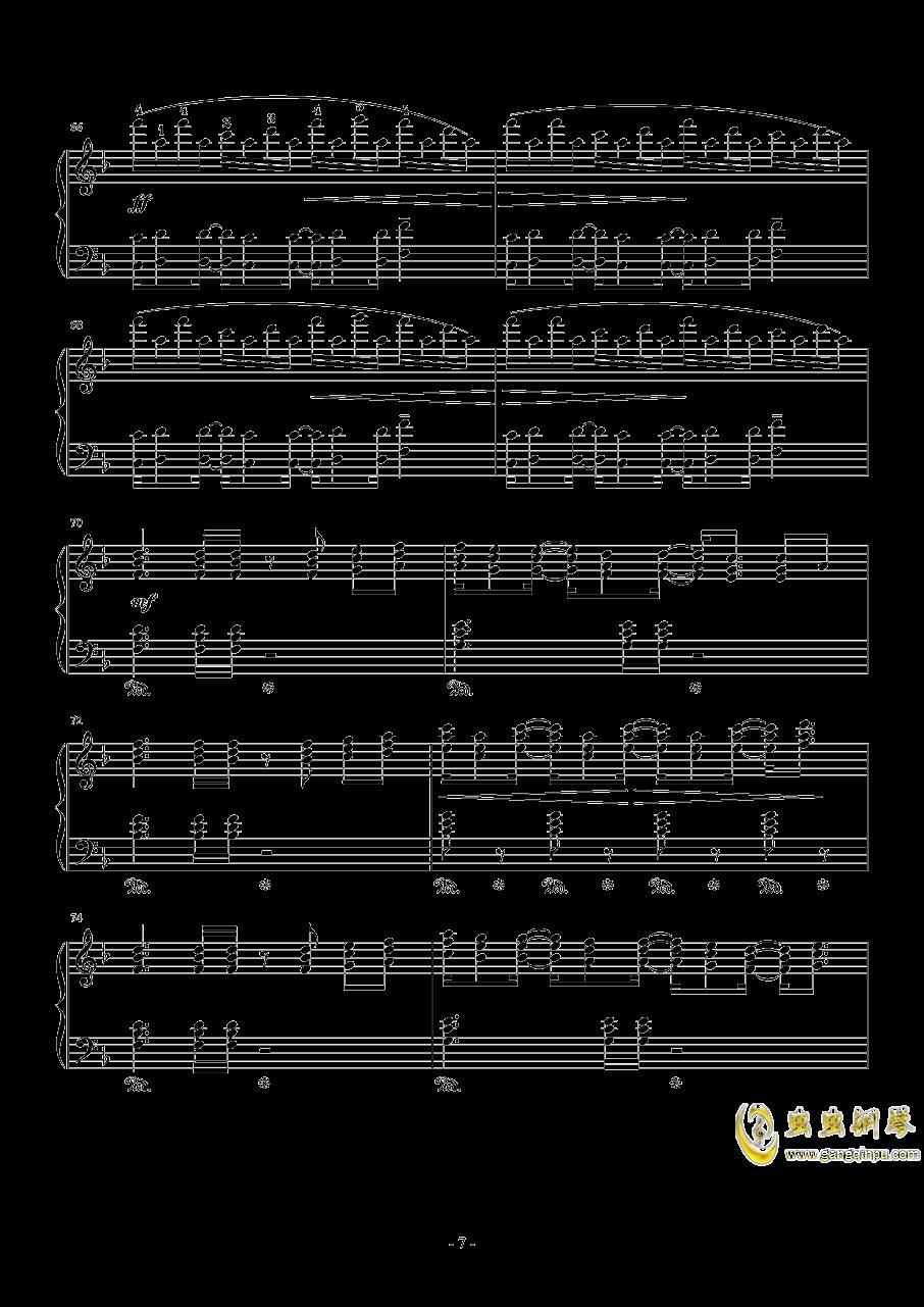Connecting钢琴谱 第7页