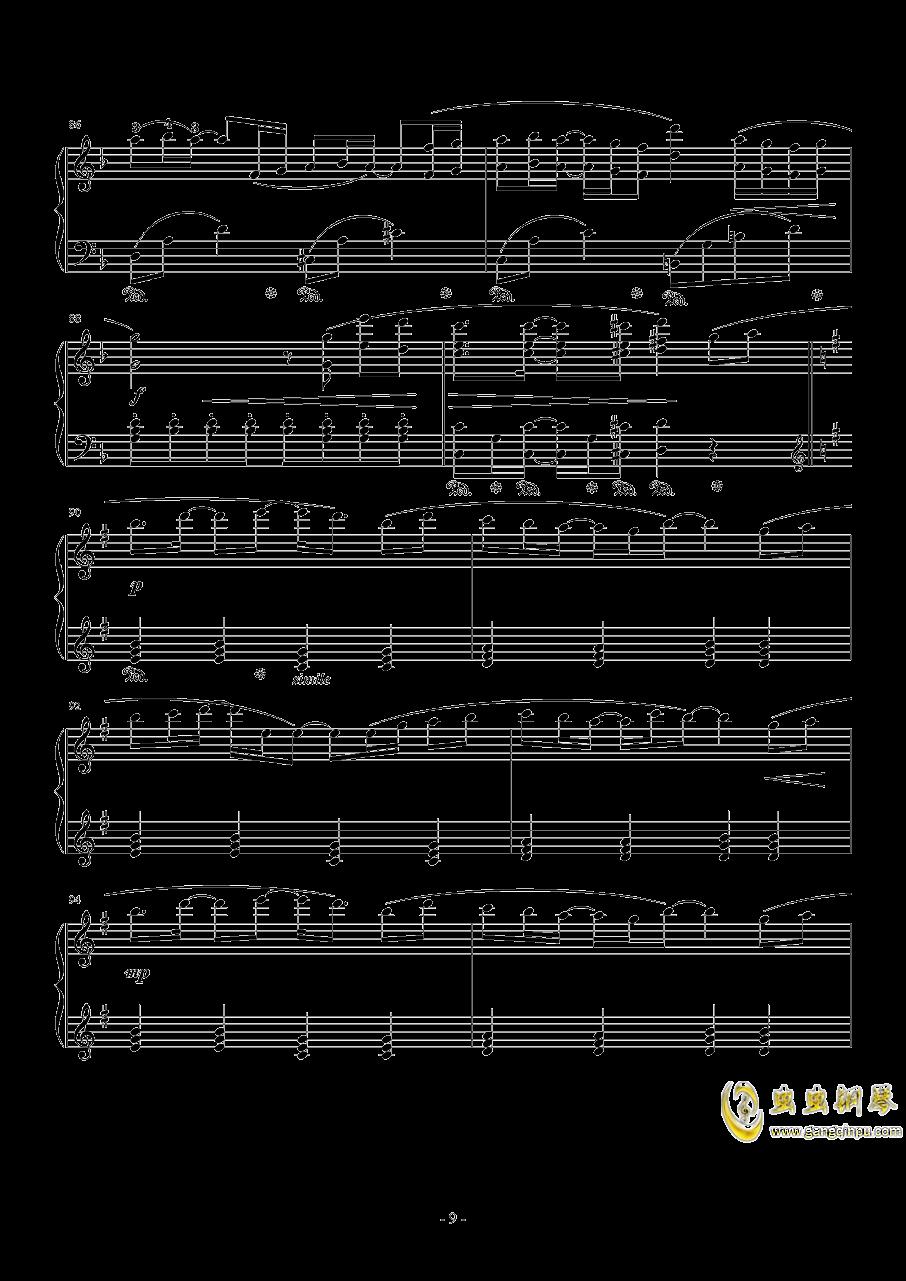 Connecting钢琴谱 第9页