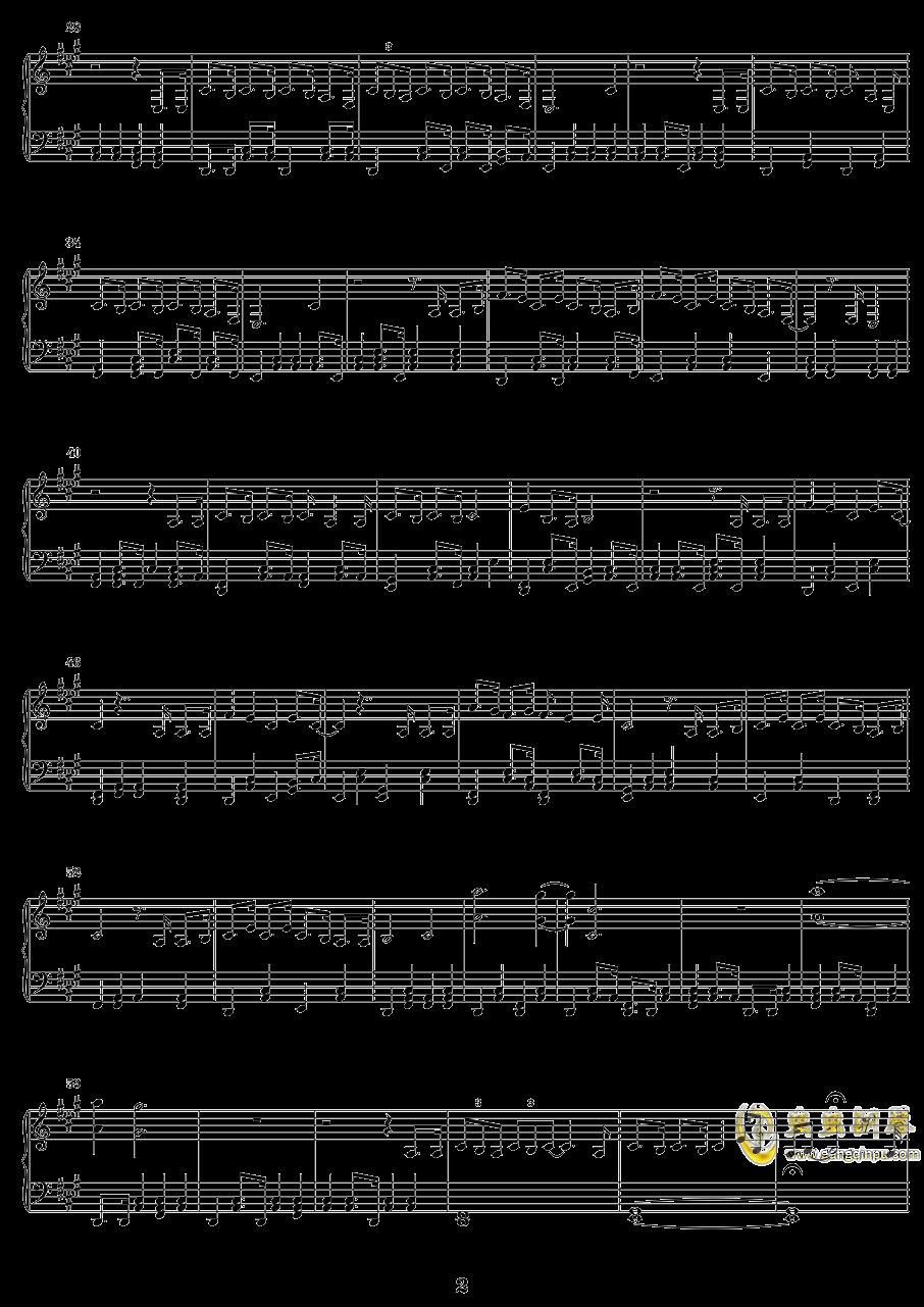 The Wrong Things钢琴谱 第2页