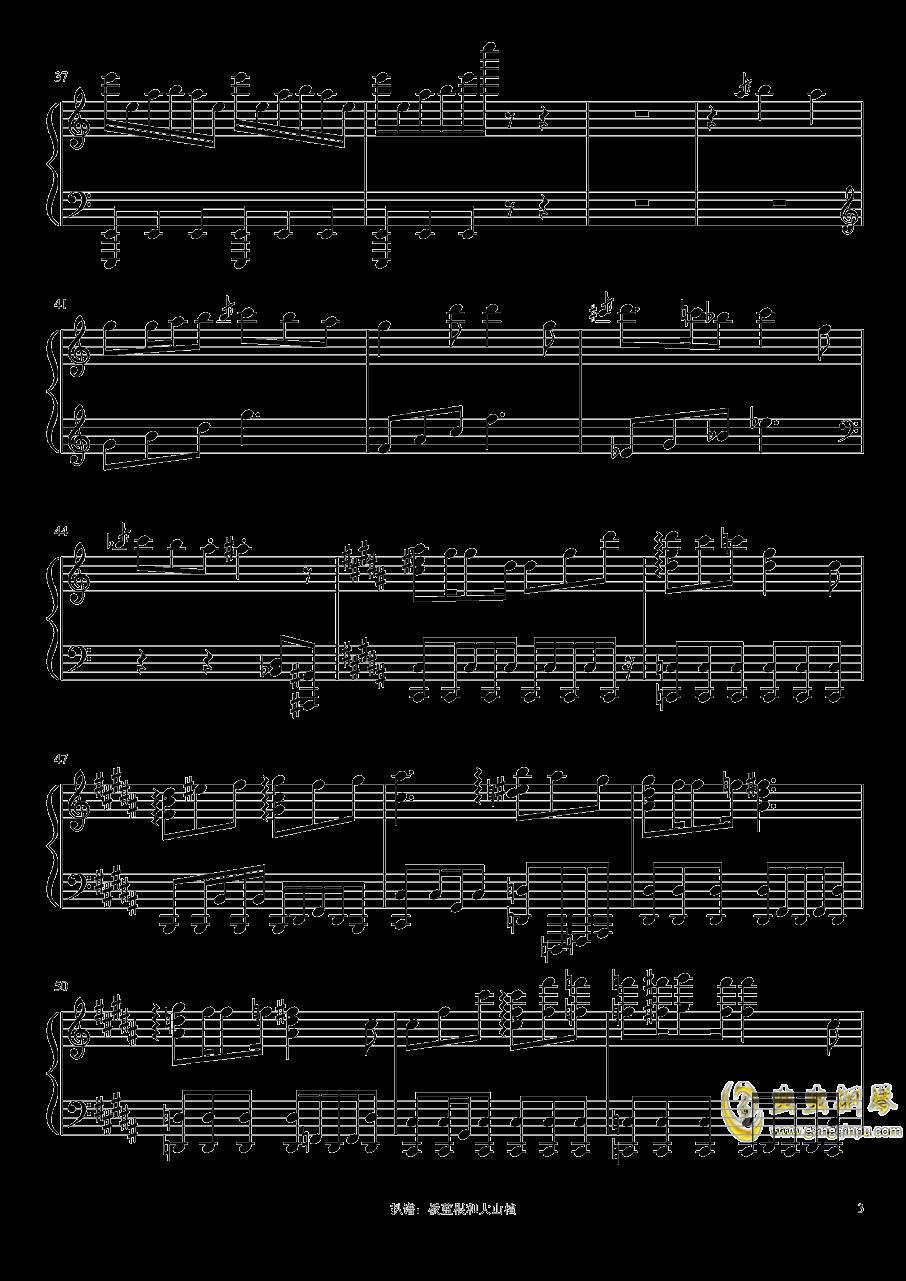 猫ハ�Lニ憧レル钢琴谱 第3页