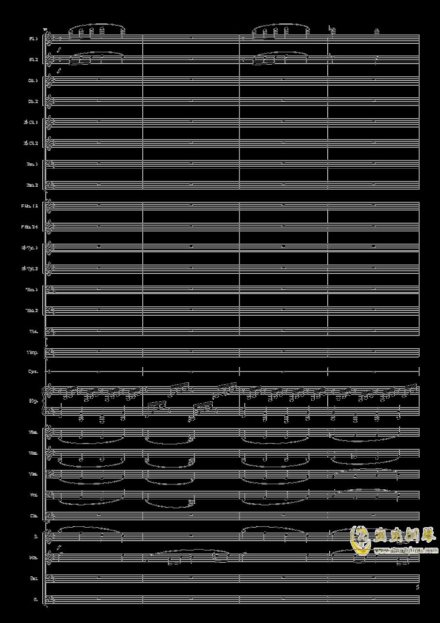 钢琴谱 第5页