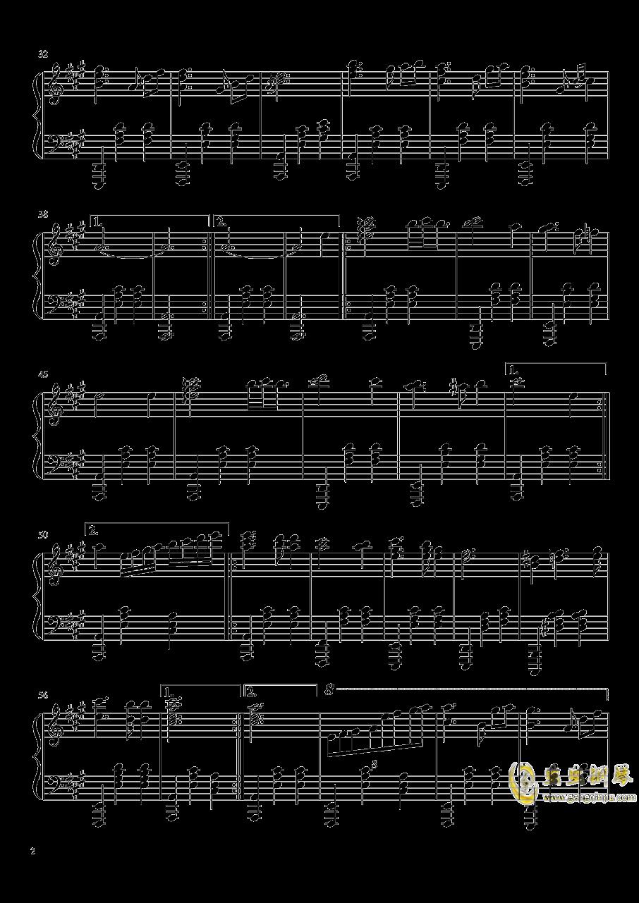 追逐星光的孩子钢琴谱 第2页