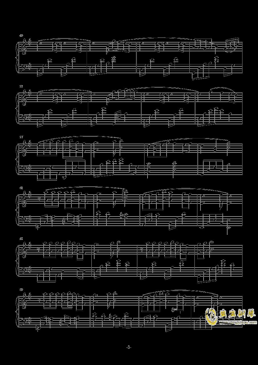 樱钢琴谱 第3页