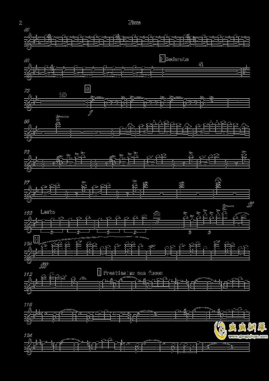 交响诗:冬末春至钢琴谱 第19页