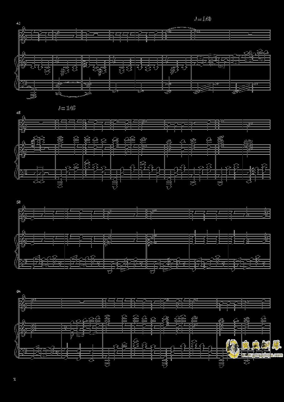 好人好梦钢琴谱 第2页