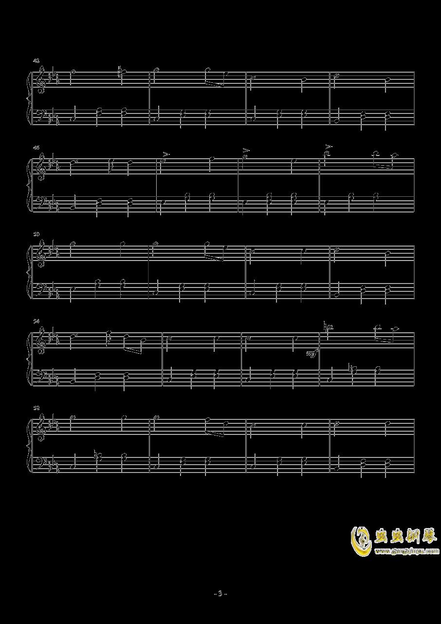C小调圆舞曲钢琴谱 第3页