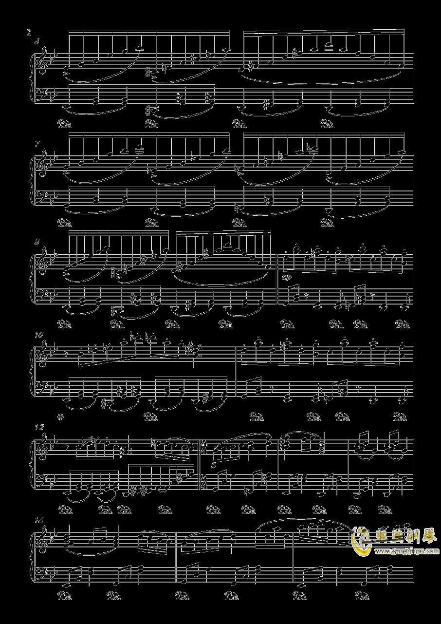 【触手猴】【幻想游戏钢琴谱 第2页