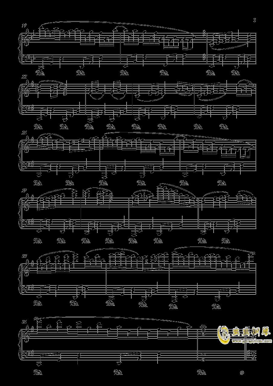 【触手猴】【幻想游戏钢琴谱 第3页