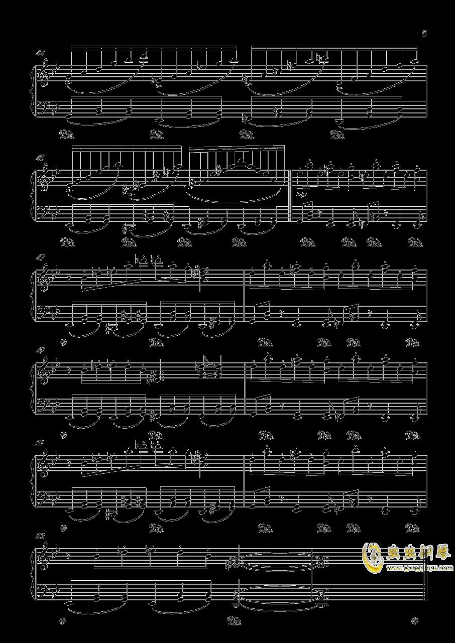 【触手猴】【幻想游戏钢琴谱 第5页