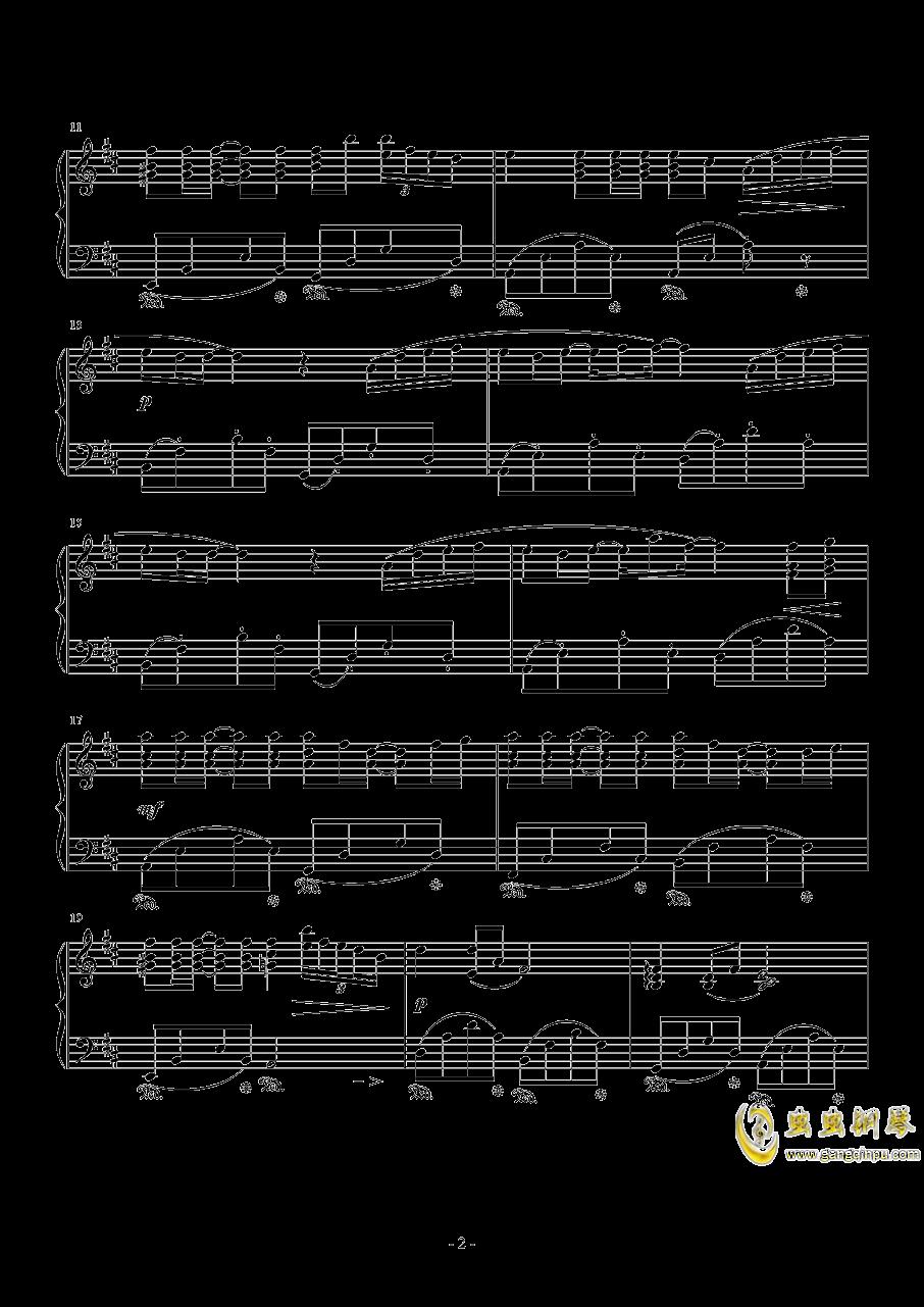 菊次郎的夏天钢琴谱 第2页