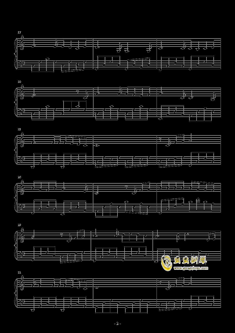 奔跑的蜗牛钢琴谱 第2页