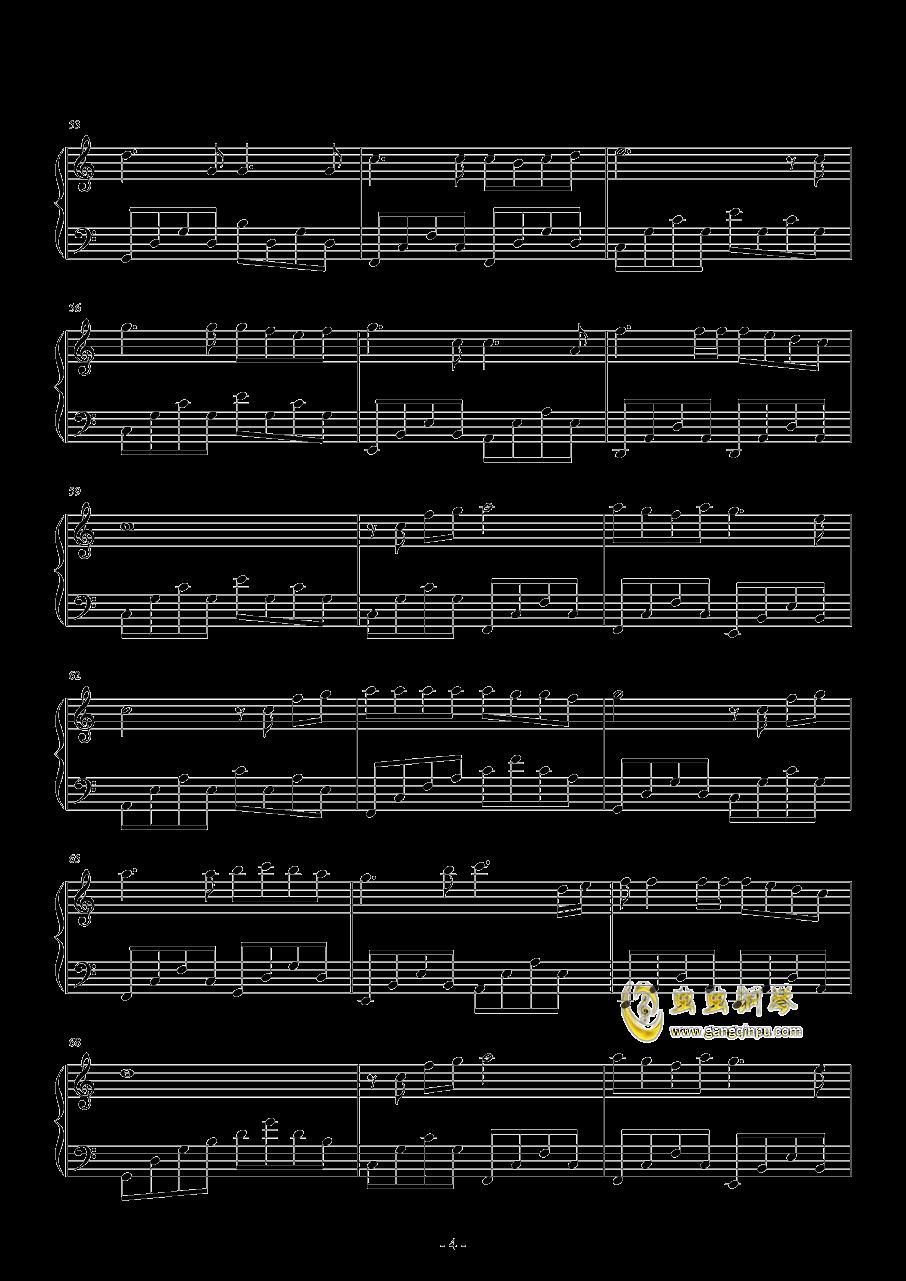 奔跑的蜗牛钢琴谱 第4页