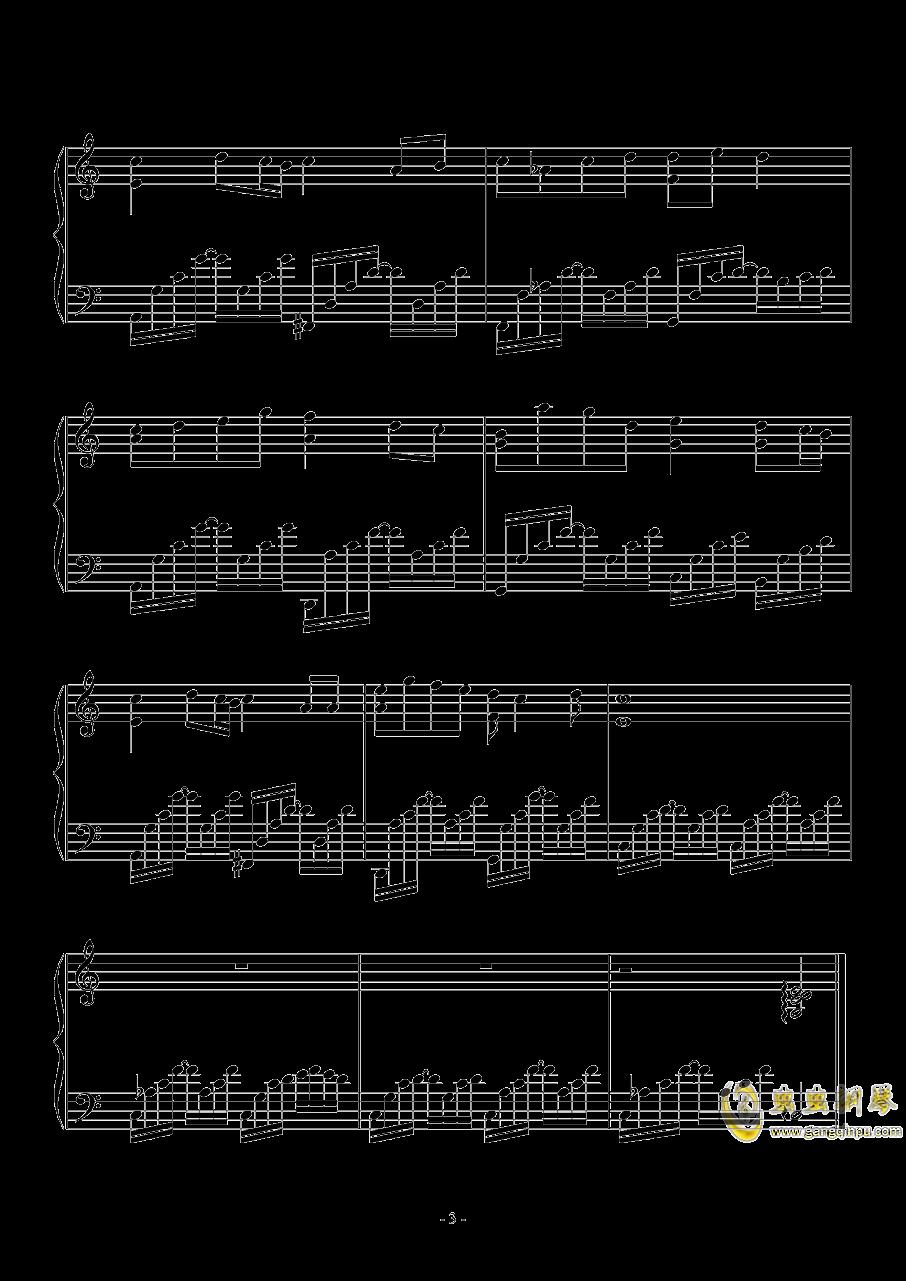 黑色毛衣钢琴谱 第3页