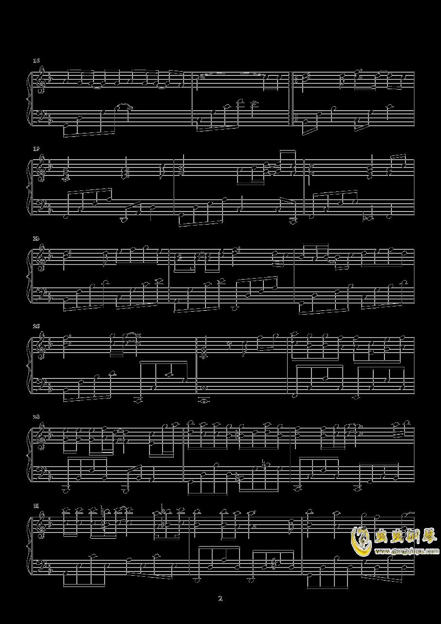 最美的遇见钢琴谱 第2页