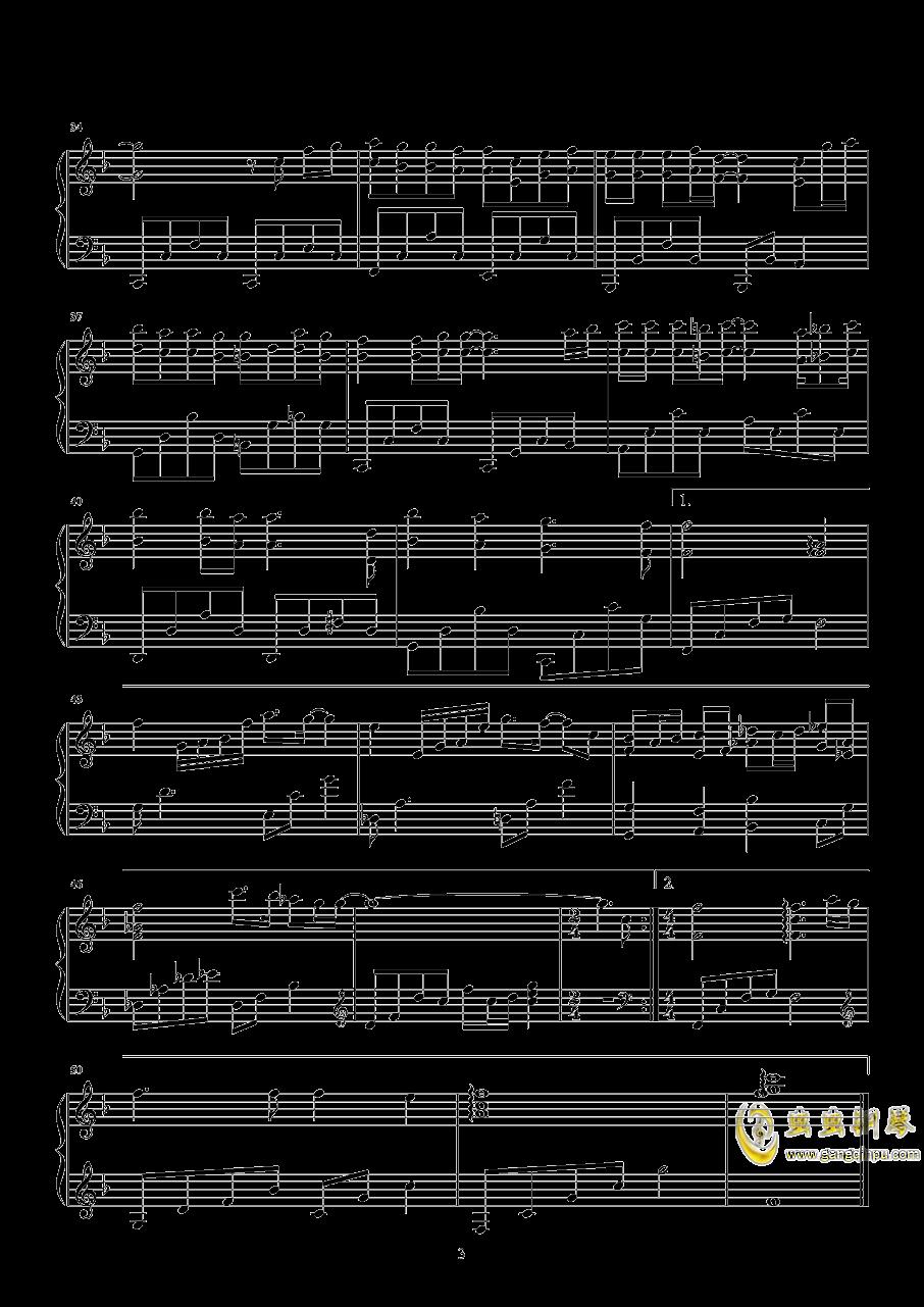 最美的遇见钢琴谱 第3页