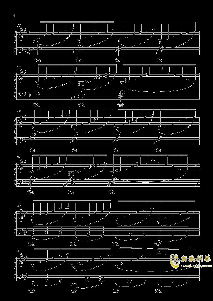 明治十七年の上海アリス 东方红魔乡钢琴谱 第4页
