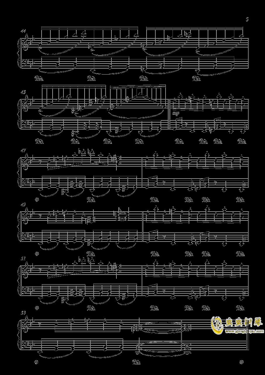 明治十七年の上海アリス 东方红魔乡钢琴谱 第5页