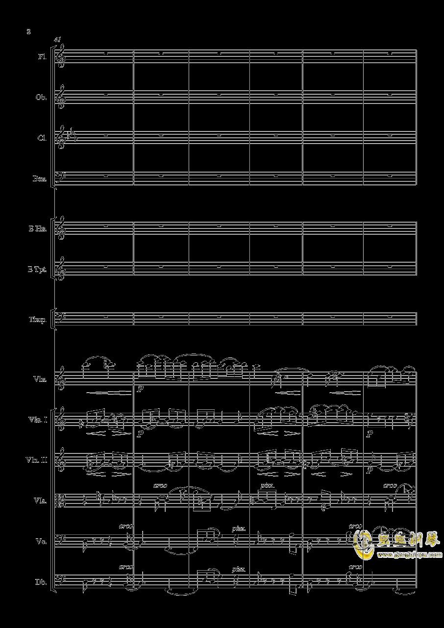 e小调小提琴协奏曲Op.64钢琴谱 第8页