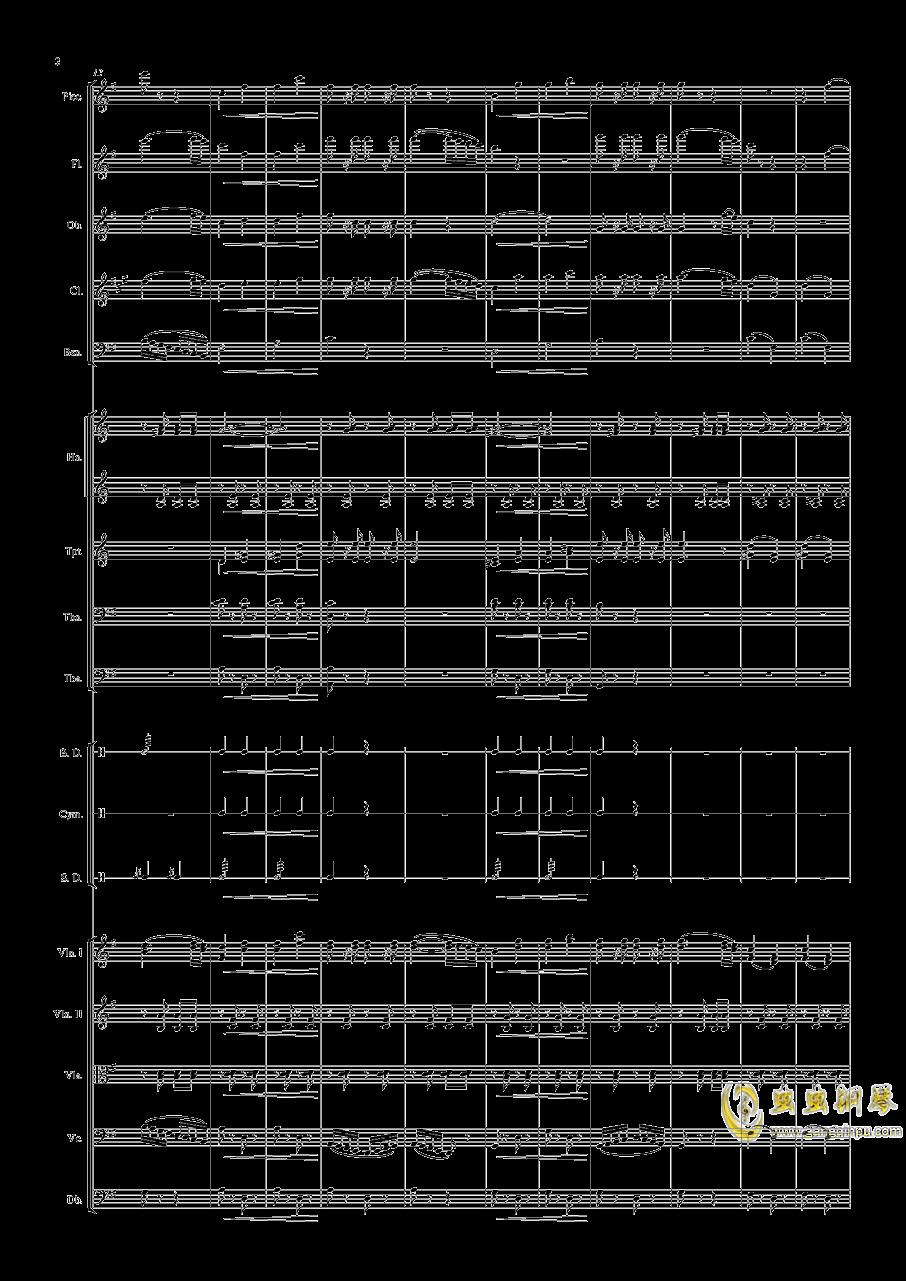 电闪雷鸣的快速波尔卡钢琴谱 第2页