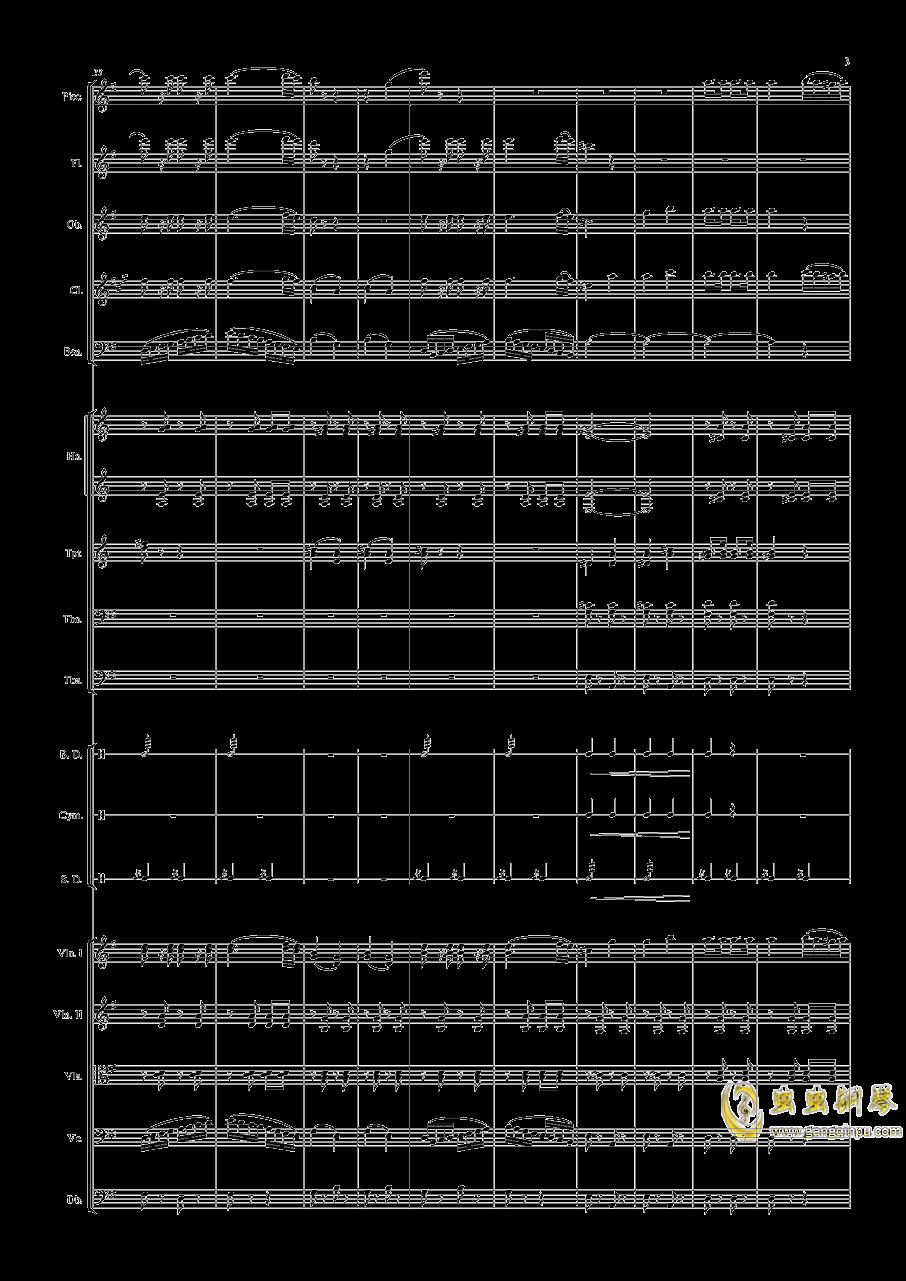 电闪雷鸣的快速波尔卡钢琴谱 第3页