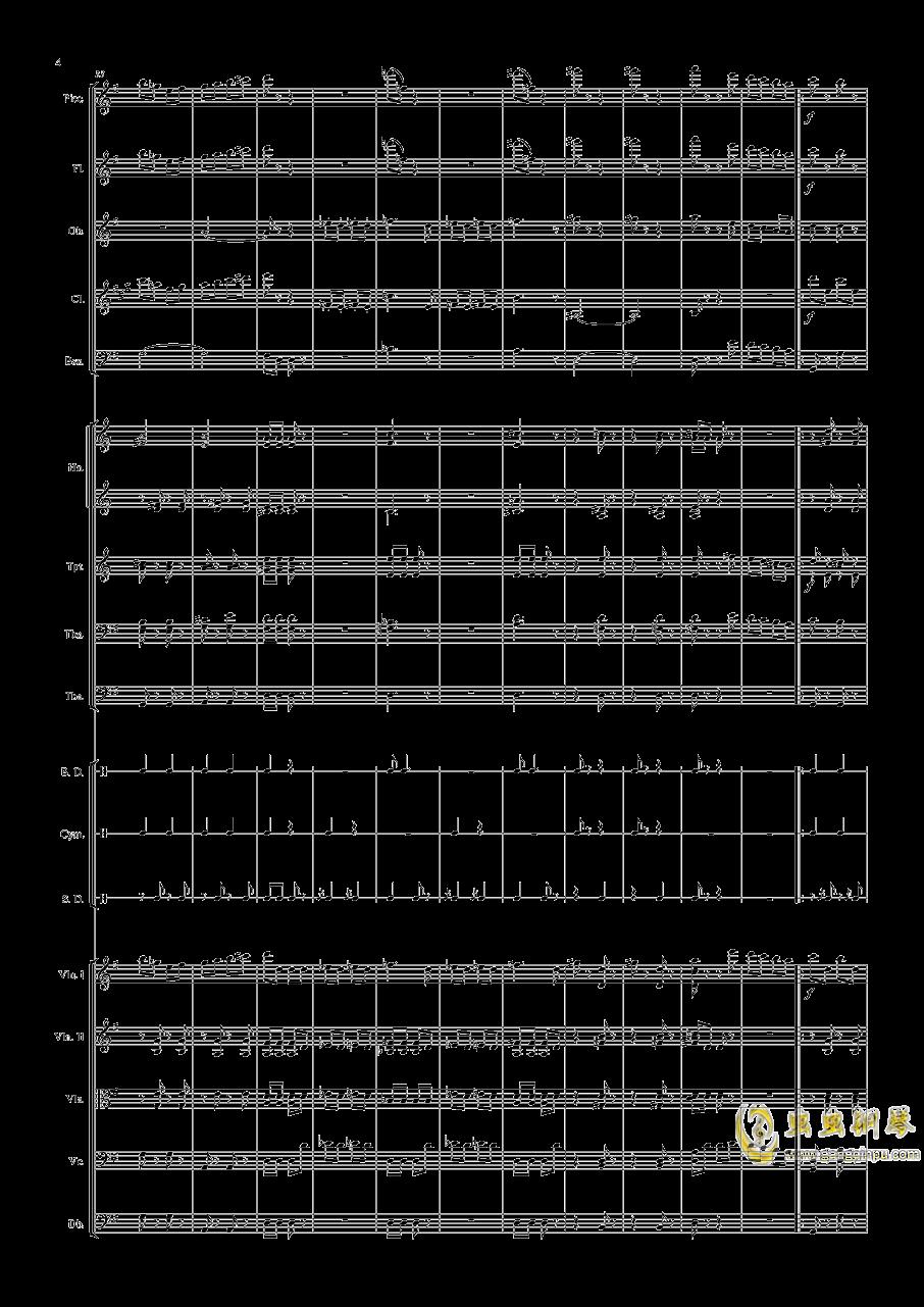 电闪雷鸣的快速波尔卡钢琴谱 第4页
