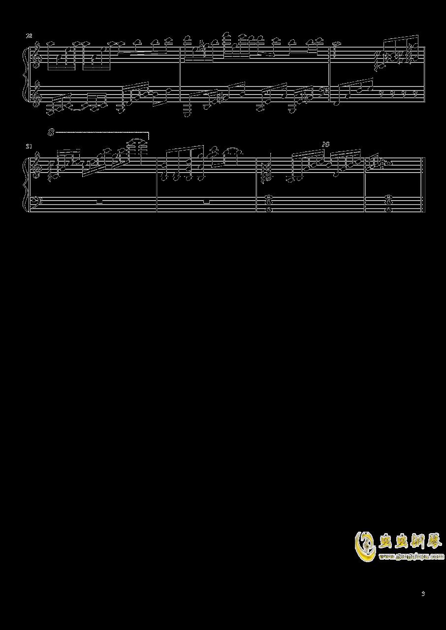 恋与制作人BGM钢琴谱 第3页