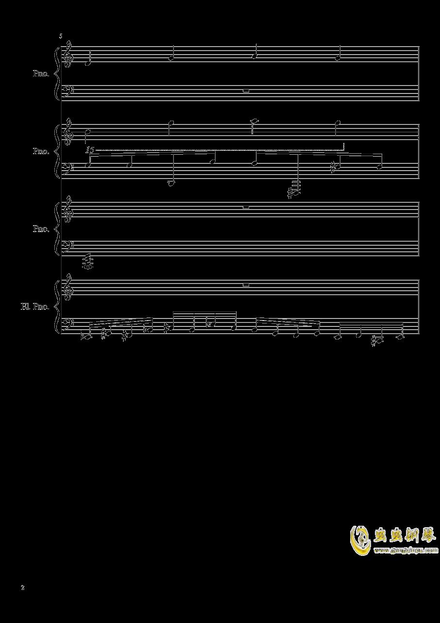 黑乐谱钢琴谱 第2页