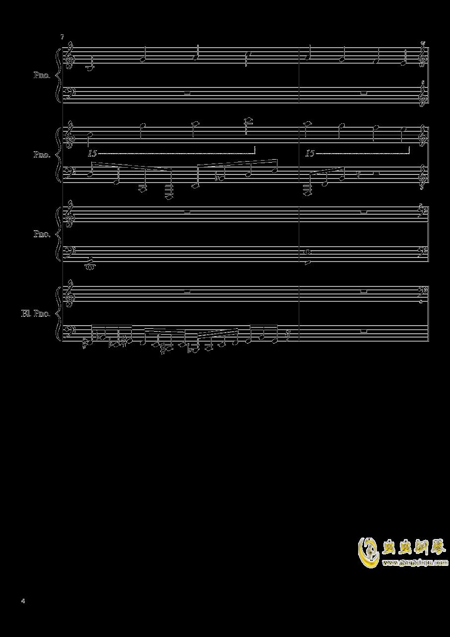 黑乐谱钢琴谱 第4页