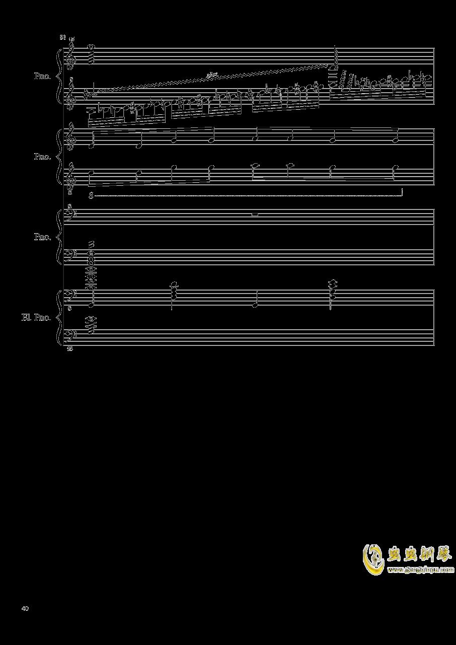 黑乐谱钢琴谱 第40页