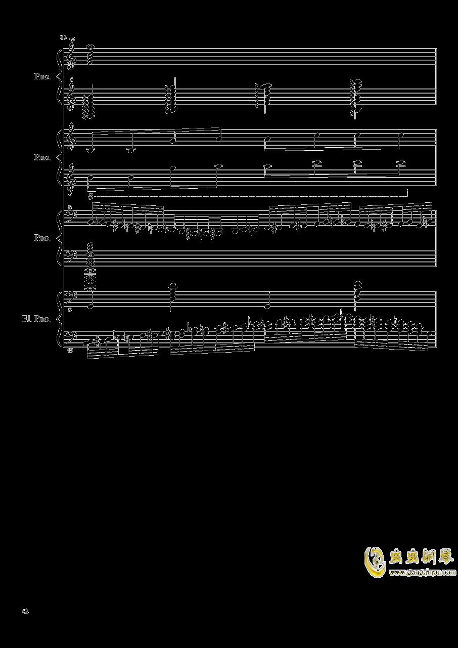 黑乐谱钢琴谱 第42页
