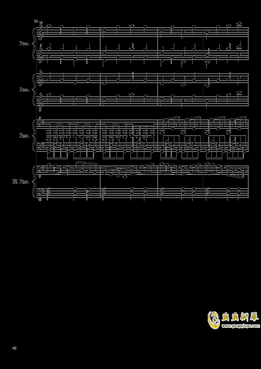 黑乐谱钢琴谱 第46页