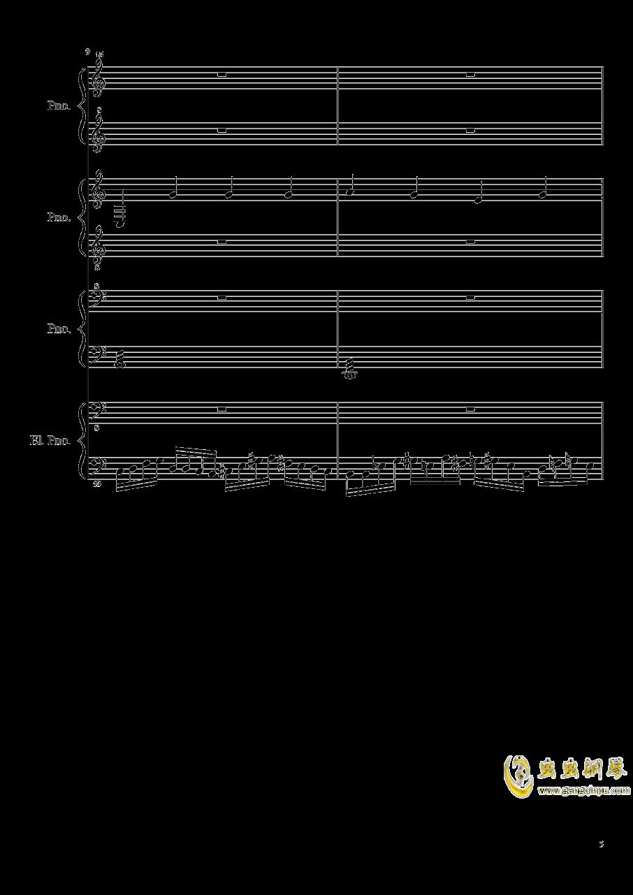 黑乐谱钢琴谱 第5页