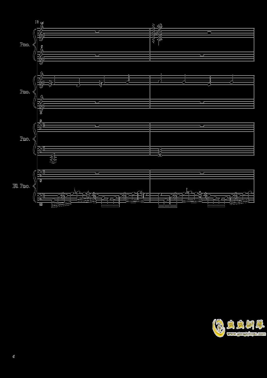 黑乐谱钢琴谱 第6页
